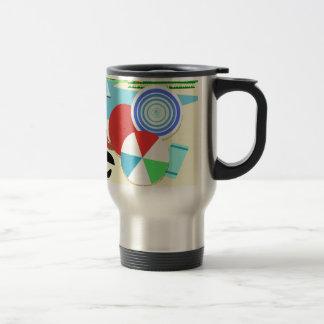 Brasil vintage retro Design Travel Mug