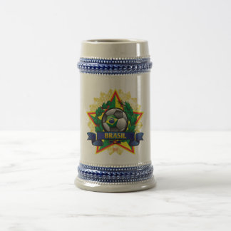 Brasil World Cup Travel Mug