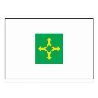Brasília Flag Postcard