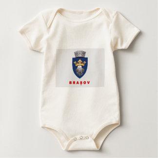 Brasov_Flag Baby Bodysuit