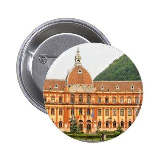 Brasov in Transylvania, Romania 2 Inch Round Button
