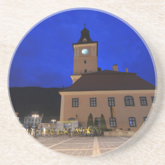 Brasov in Transylvania, Romania Beverage Coaster