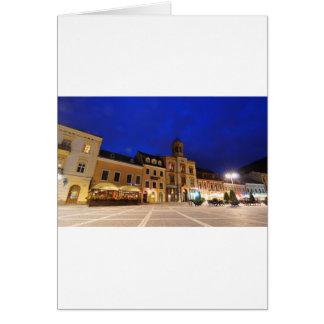Brasov in Transylvania, Romania Card