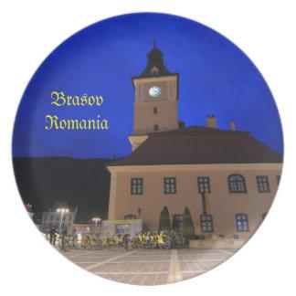 Brasov in Transylvania, Romania Dinner Plate