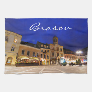 Brasov in Transylvania, Romania Kitchen Towels
