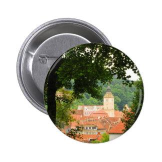 Brasov, Romania 2 Inch Round Button
