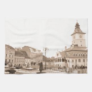 Brasov, Romania Kitchen Towel