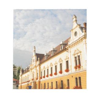 Brasov, Romania Notepad