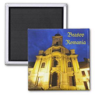 Brasov, Romania Square Magnet