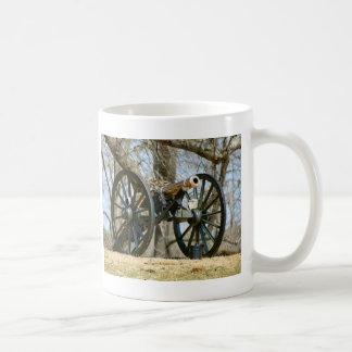 Brass Cannon Mugs