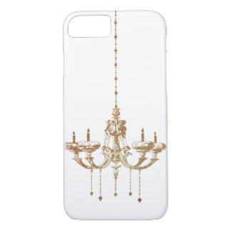 Brass Drop Candle Chandelier Lightning iPhone 7 Case