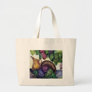 Brass & Grapes Large Tote Bag