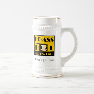 Brass Hat Brewing Stein
