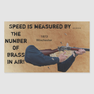 Brass in the Air - 1873 Winchester Goal Sticker