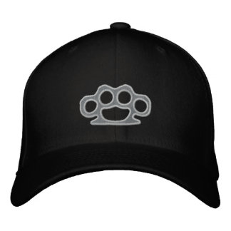 Brass Knuckles Embroidered Hat