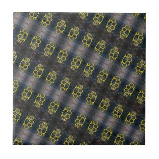 Brass Knuckles Pattern Tile