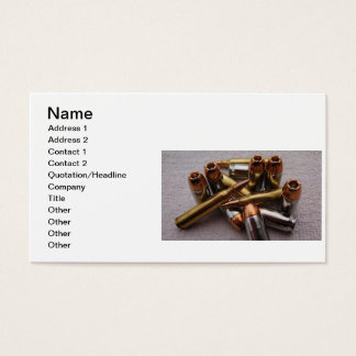 Brass & Lead  bullet Business Cards