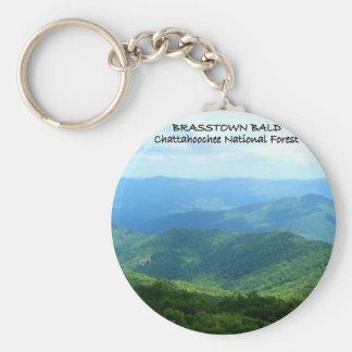 Brasstown Bald - Chattahoochee National Forest Keychain