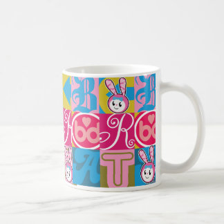 BRAT BUNNY Blocks Coffee Mug