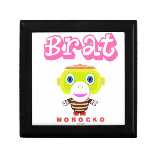 Brat-Cute Monkey-Morocko Gift Box