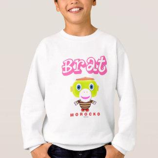 Brat-Cute Monkey-Morocko Sweatshirt