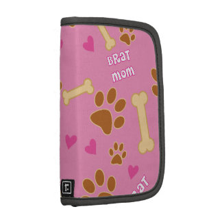 Brat Dog Breed Mom Gift Idea Folio Planner