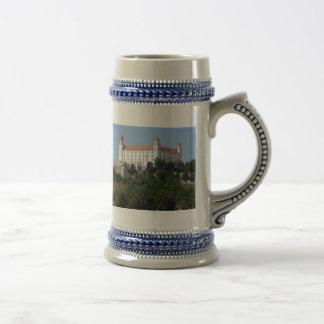 bratislava castle coffee mugs