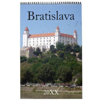 bratislava slovakia 2018 calendar