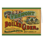 Brattleboro Jelly Boiled Cider from Vermont Greeting Card