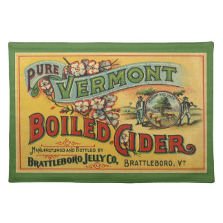 Brattleboro Jelly Boiled Cider from Vermont Place Mat