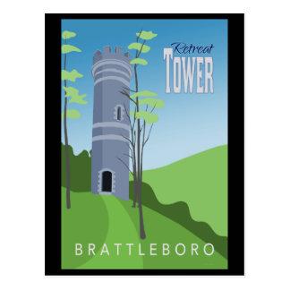 Brattleboro Retreat Tower Postcard