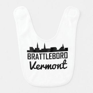 Brattleboro Vermont Skyline Bib
