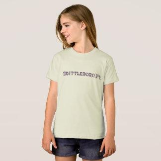 Brattleboro , VT 1886 Organic Logo T-Shirt