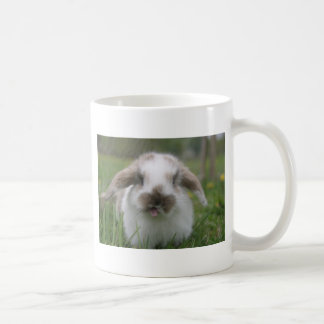 Bratty bunny coffee mug