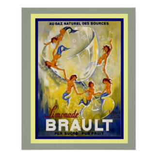 Brault Limonade French Ad Poster 16 x 20