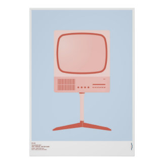 Braun FS 80 Television Set - Dieter Rams Poster