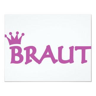 Braut icon invite