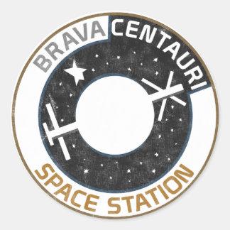 Brava Centauri Space Station Sticker (Set of 20)
