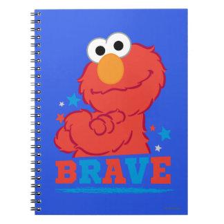 Brave Elmo Notebooks
