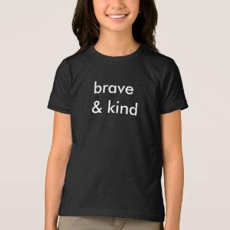 Brave & Kind Kids Black T-Shirt