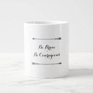 Brave Large Coffee Mug