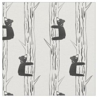 Brave Little Bear Fabric