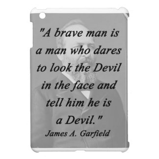 Brave Man - James Garfield iPad Mini Case