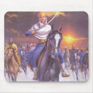 Brave SIKH Mouse Pad