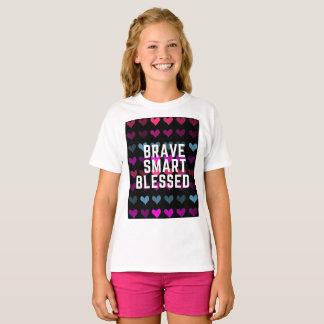 BRAVE SMART BLESSED GIRLS TSHIRT