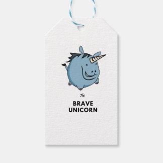 Brave Unicorn Gift Tags