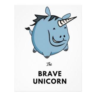 Brave Unicorn Letterhead