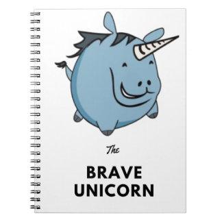 Brave Unicorn Notebook