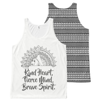 Brave Vibes All-Over-Print Tank Top