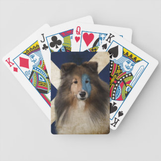 Braveheart Sheltie Playing Cards